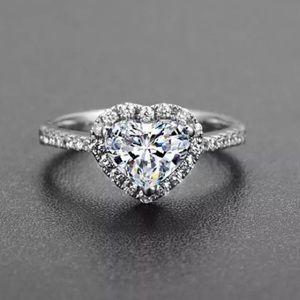 Coming Soon! Halo Heart CZ Ring!